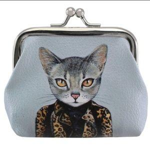 Handbags - 🐱 Zsa Zsa Cat Coin Purses